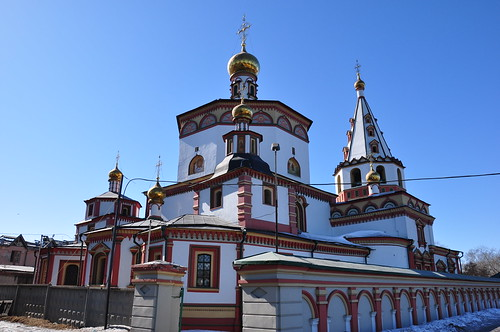 Church of The Epiphany, Irkutsk by byrnzie28