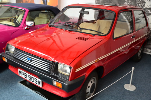 Princess Diana's car - a 1980 Austin Metro