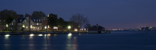 longexposure night creek waterfront hampton bookmark panoramicview