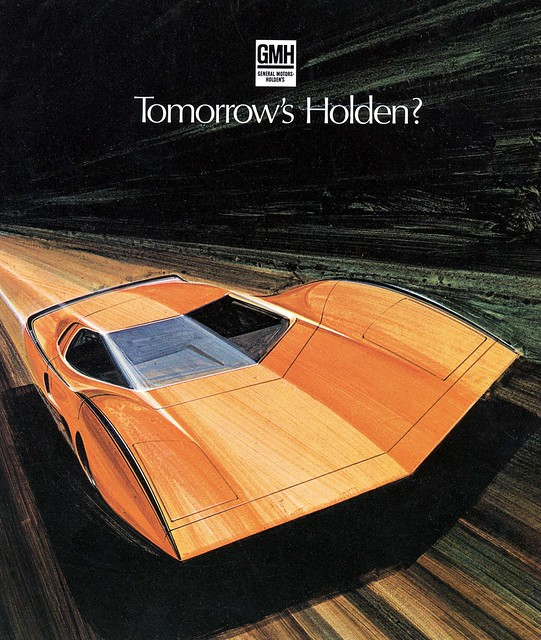 1969 Holden Hurricane Concept Car