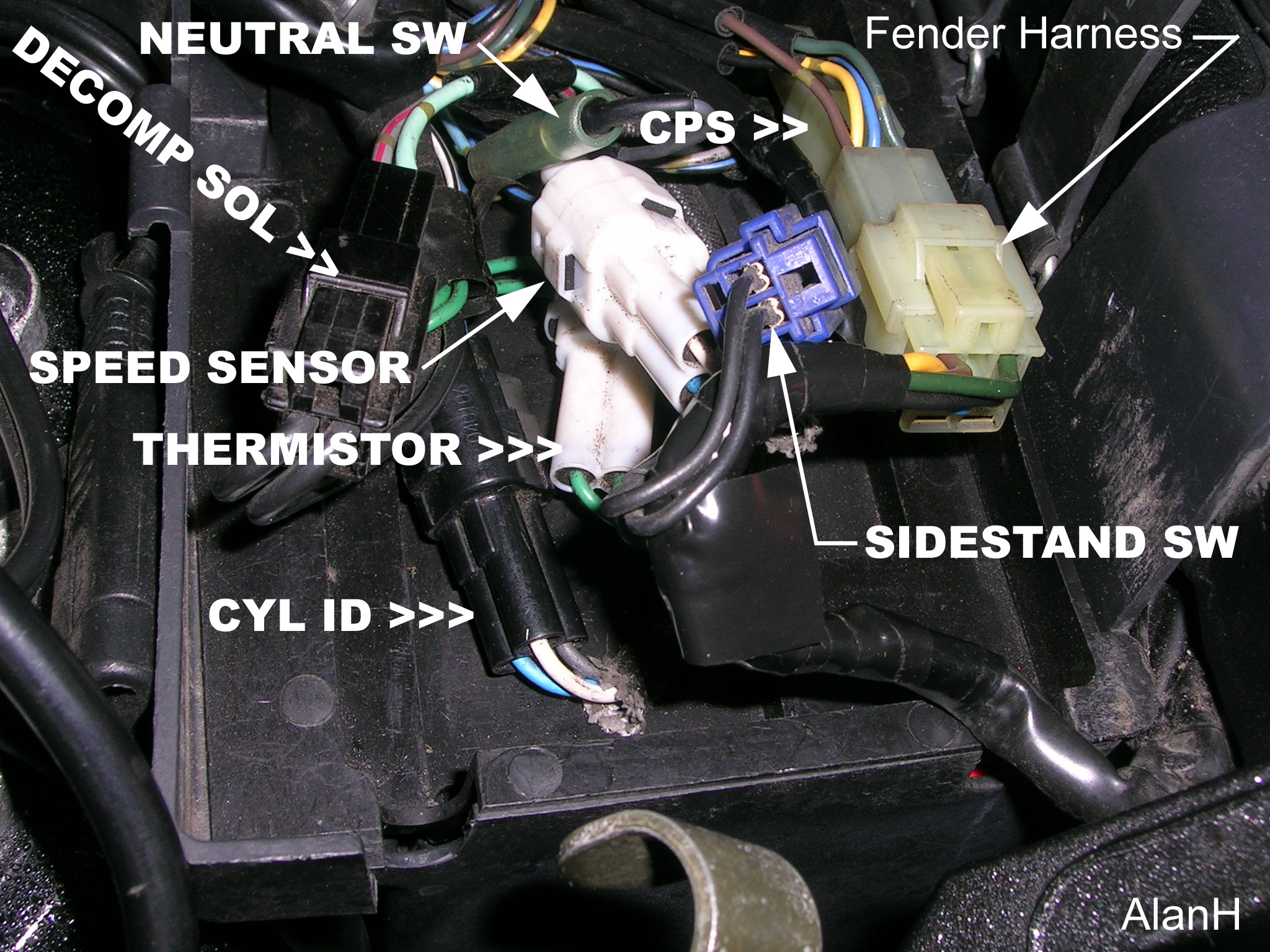 Help Decompression Solenoid Code 38 Road Star Warrior Forum 2002 Yamaha Roadstar Wiring Harness Report This Image