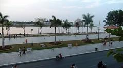 Bougainvillier Hotel Balcony in Phnom Penh, Cambodia