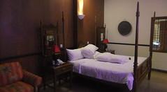 Bougainvillier Hotel room in Phnom Penh, Cambodia