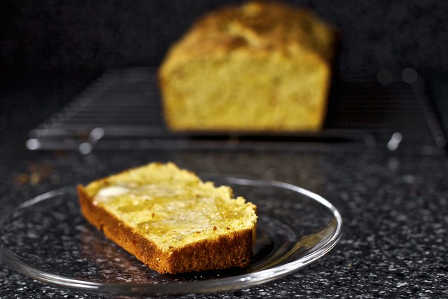 red rooster cornbread, honey, butter | Flickr - Photo Sharing!