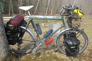 Schwinn Cimmaron rough stuff, touring rig.