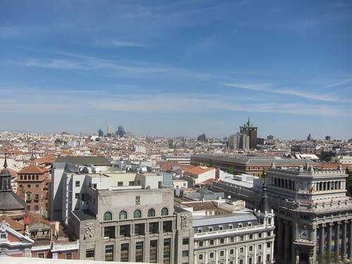 Madrid desde la Azotea del Círculo de Bellas Artes