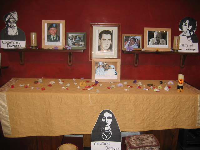 Altar display for Public Meeting.