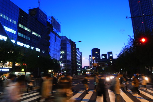 Suido-bashi crossing