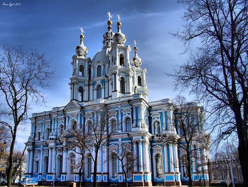 Smolny Cathedral (Sobor). Смольный Собор.