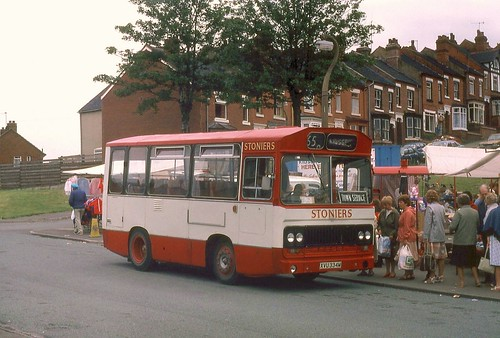 Stonier's and the Kidsgrove Town Service.