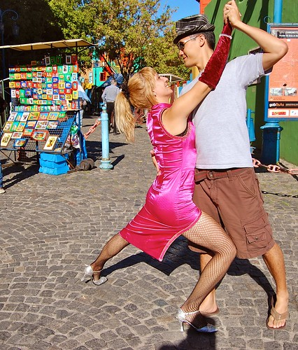 "...as well as tango ""dancers"" who pose with tourists for a fee :)"