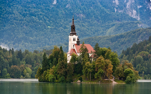Lake Bled, Slovenia by AudreyH on Flickr