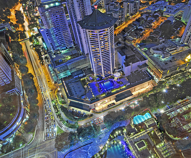 Heart of Orchard Road – Aerial View from ION Sky