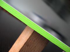 Adam Cox Letterpress Cards - Edge Color Closeup