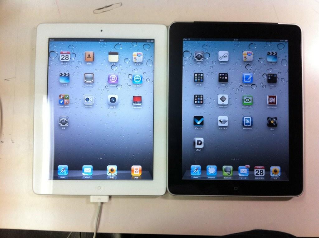iPad2正面
