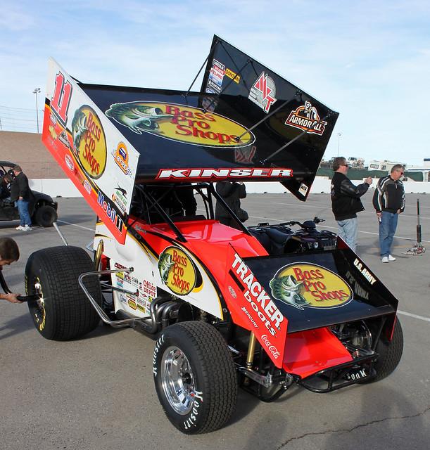 Steve Kinser, WoO Sprint Car - Las Vegas, NV