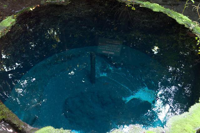 第二展望台から見た井戸