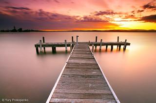 Sunset @ Lake Macquarie
