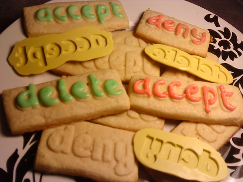 delete, accept, and deny cookies