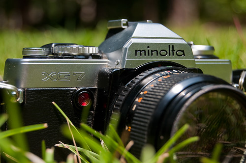 Minolta XG7 35mm Film Camera