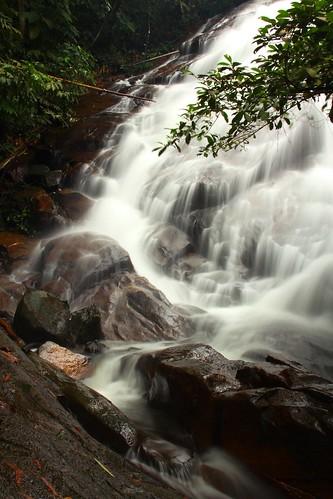 waterfall falls malaysia selangor gabai