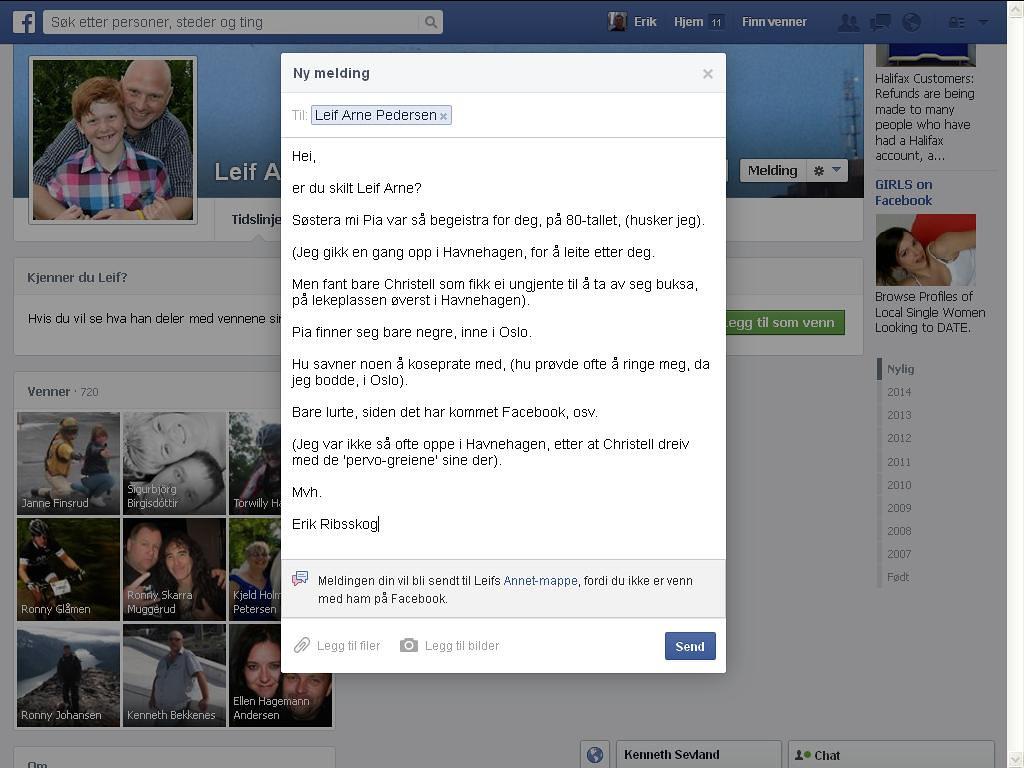 leif arne pedersen facebook