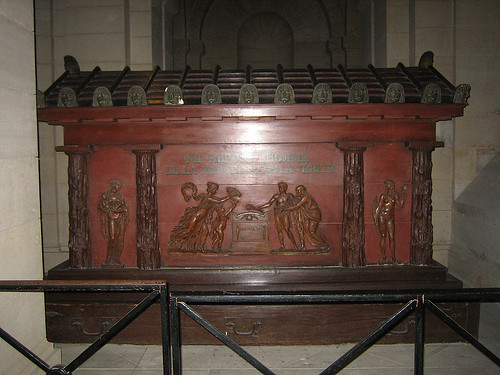 IMG__7774 - Tomb of Jean-Jacques Rousseau, in the crypt of Panthéon, Paris