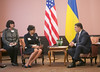 U.S. Secretary of Commerce Penny Pritzker visits Ukraine, Meeting with Prime Minister Groysman, September 28, 2016