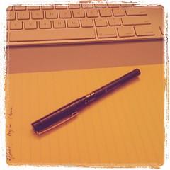 מקלדת במקום עט