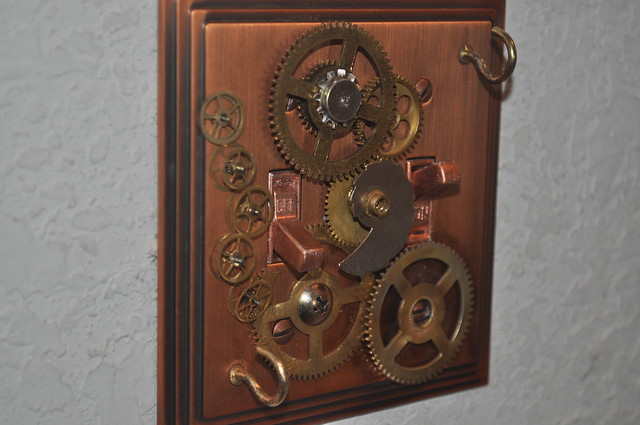 Steampunk Lightswitch Plate Cover Flickr Photo Sharing
