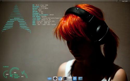 Arch Linux - Abril'11 (alt)