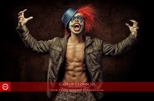 Cast of Clown III by dheadconcepts