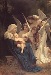 Bouguereau, Le chant des anges, 1881