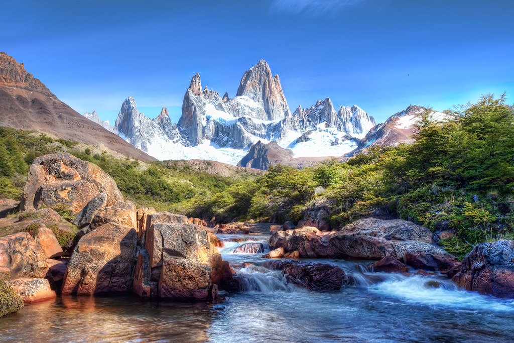 'Picturesque', Argentina, Patagonia, Mt. Fitzroy