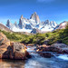 'Picturesque', Argentina, Patagonia, Mt. Fitzroy by WanderingtheWorld (www.ChrisFord.com)