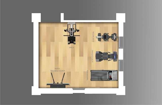 Home gym in mq layout flickr photo sharing