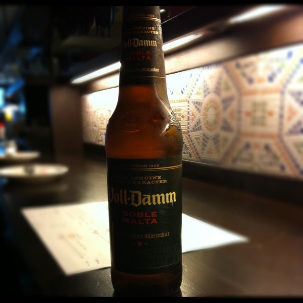 Voll-Damm スペインビール うまいぞ!