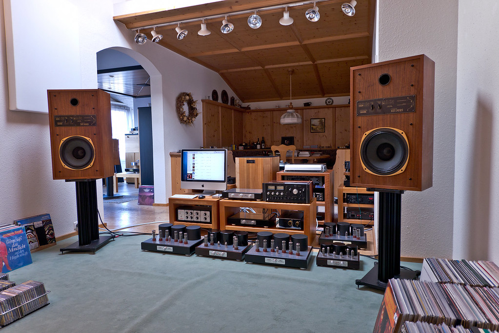 ... Vintage Speakers: TANNOY Super Red Monitor 12X | by Hannes Frick