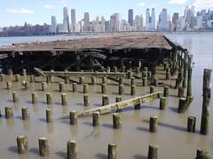 日, 2011-04-03 14:53 - George Washington Bridge から Hoboken までハドソン川沿いをサイクリング