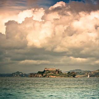 clouds over alcatraz