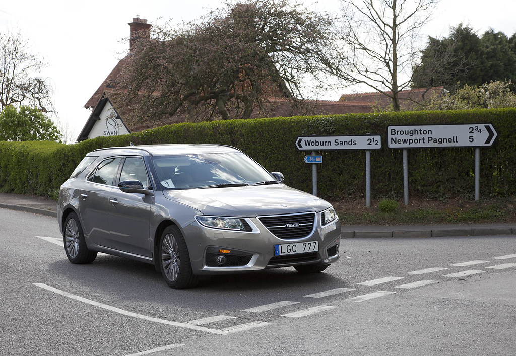 New Saab 9-5 Estate in the UK