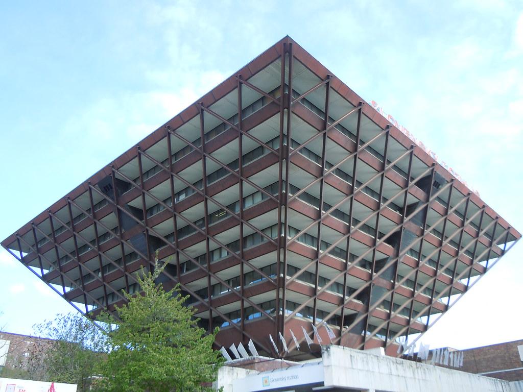 bratislava upside down pyramid building