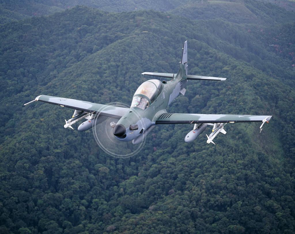 Brasil firma más un contrato de venta A-29 Super Tucano Mali