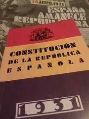 Constitución de la República Española - 1931 -