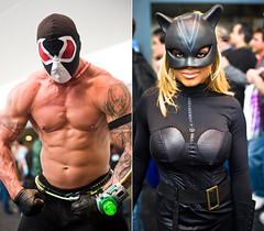 Wondercon – Bane & Catwoman