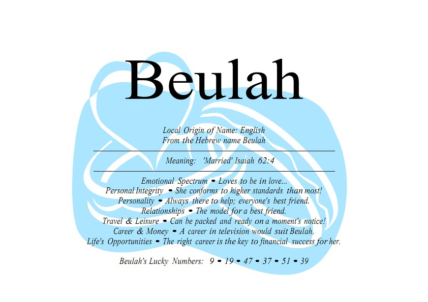 beulah_001 | Beulah Posted On April 19th 2011 By kwon  Under