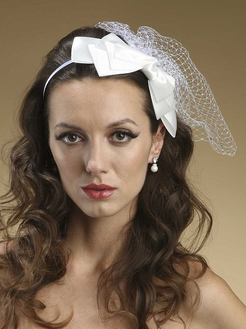 bridal hairband hair accessories dianna castner headpieces and veils