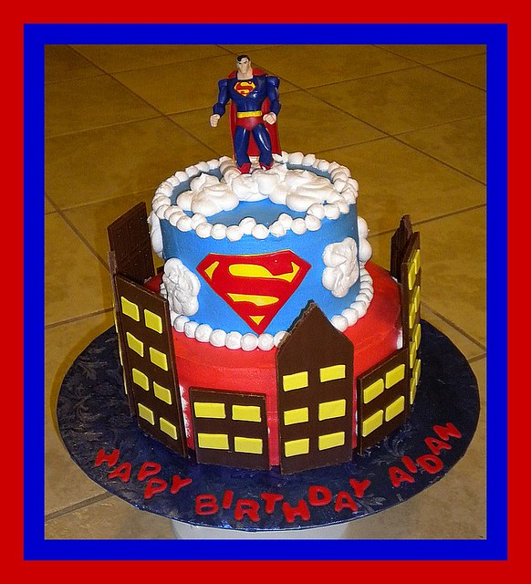 Superman Birthday Cake Flickr Photo Sharing
