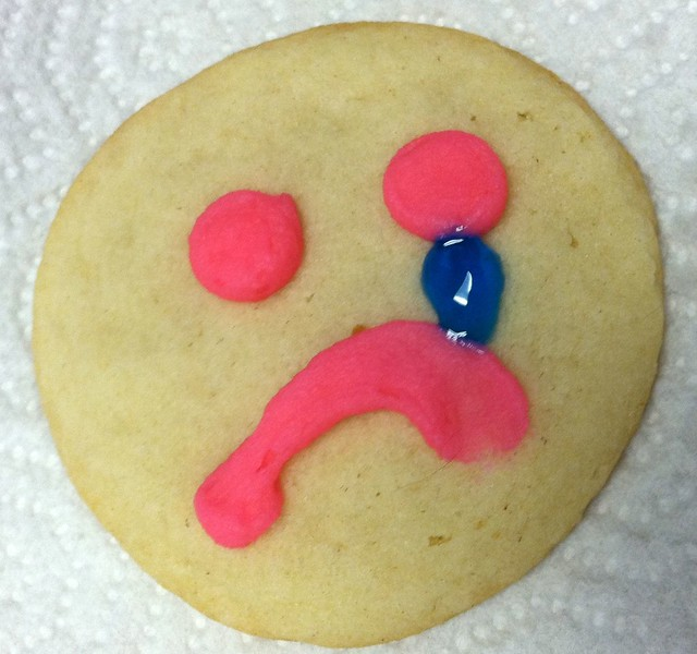 Sad Cookie from Flickr via Wylio