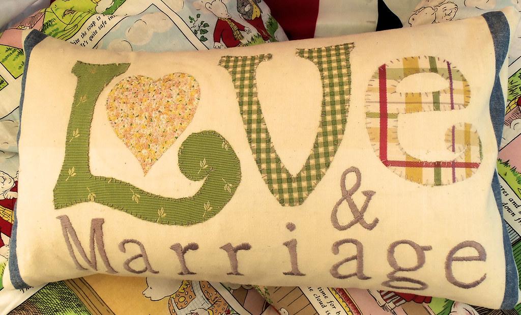 Love & Marriage Applique